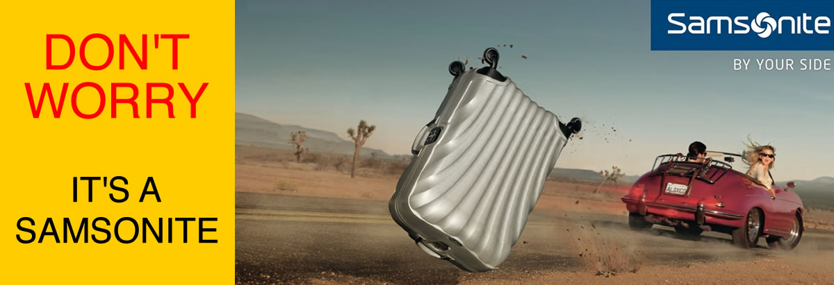 samsonite dont worry